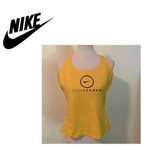 Nike Live Strong Sports Top w/Built in Bra. XL